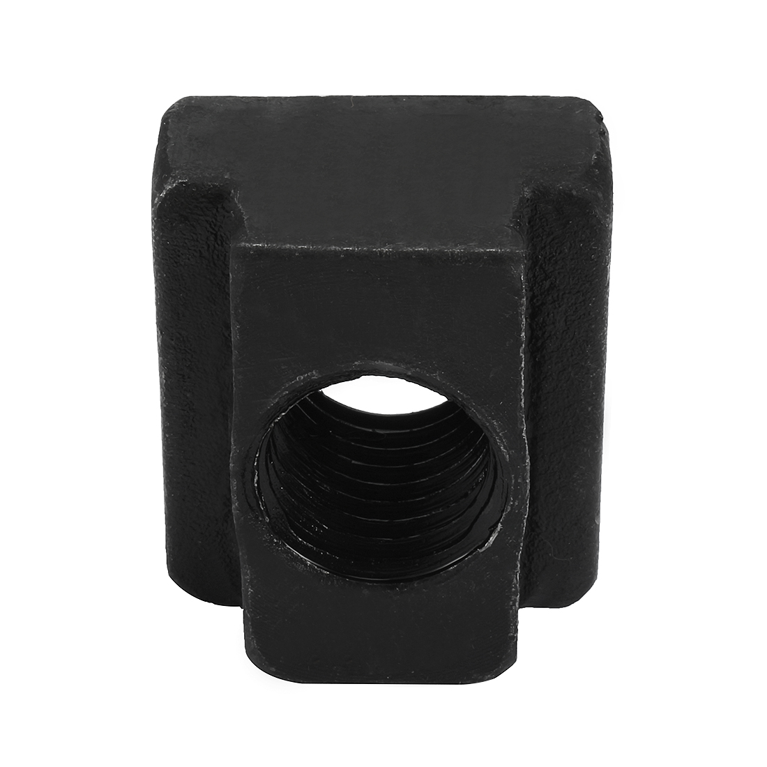 M18 Steel T-Slot Nut Black Oxide Plated Grade 8.8 Tapped Through 2pcs - image 4 of 6