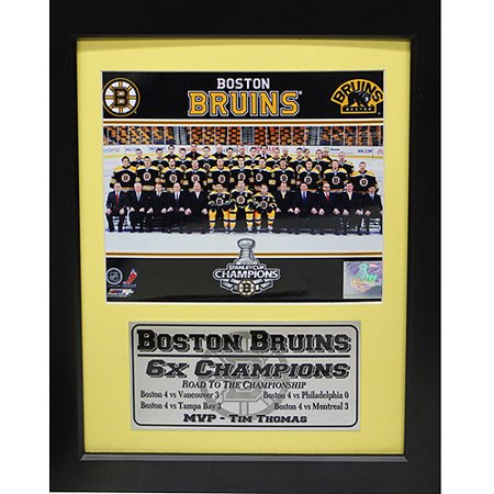 NHL Boston Bruins Champions Deluxe Frame, 11x14 by