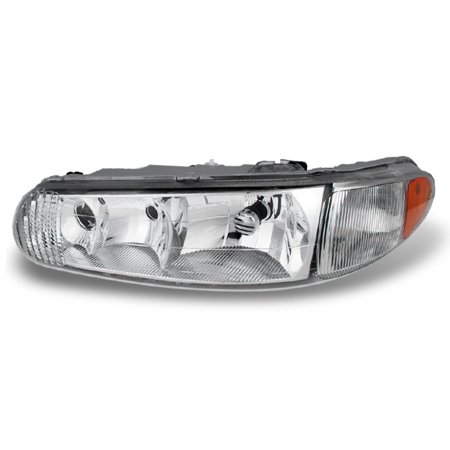 Fit 1997-2005 Buick Century Regal Driver Left Side Headlight Lamp Replacement