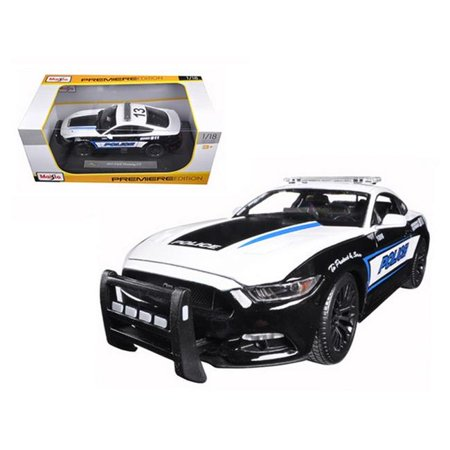2015 Ford Mustang GT 5.0 Police 1-18 Diecast Model