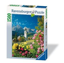 "Ravensburger Colfosco ""italy's Dolomites"" 1500 Piece Puzzle---Sealed by"