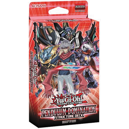 Yu-Gi-Oh! TCG: Pendulum Domination Structure Deck