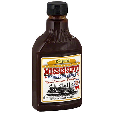 Mississippi Barbecue Sauce Original Barbecue Sauce, 18 oz (Pack of (Best Barbecue In Mississippi)