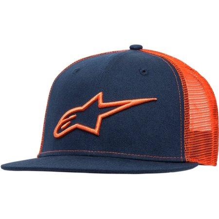 Alpinestars Corp Mens Snapback Trucker Hat Navy Orange - Walmart.com cc1c416f84f4