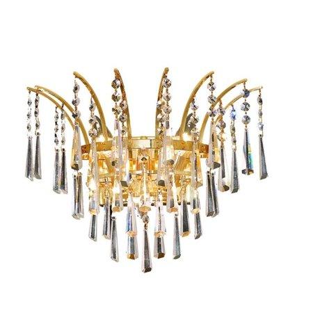 "Elegant Lighting Victoria 16"" 3 Light Elements Crystal Wall Sconce - image 1 de 1"