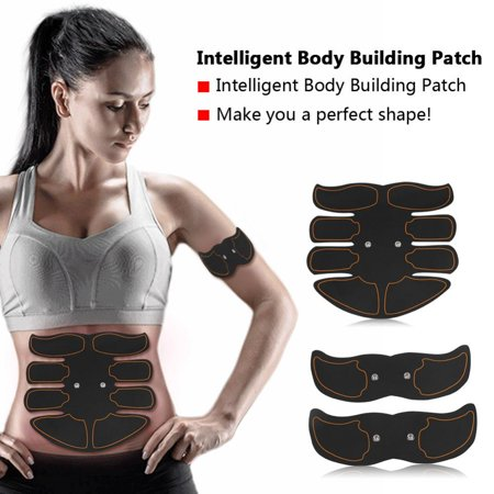 Yosoo Body Building Patch, Fat Burning Patch,Battery Type Fat Burning Muscle Strengthening EMS Intelligent Abdomen Training Patch - image 6 of 8