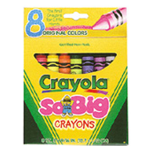 Crayola LLC Crayons Jumbo 8ct Peggable Tuck Box (Set of 2)