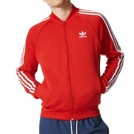 2ac21ef2 Adidas - Adidas Originals Superstar Men's Track Jacket Vivid Red ...