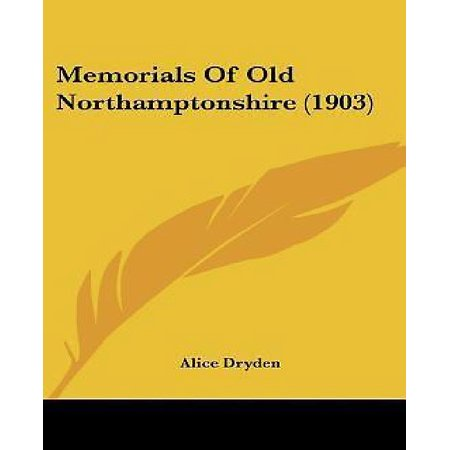 Memorials of Old Northamptonshire (1903) - image 1 of 1