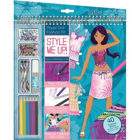 Style Me Up Clothing Designer Sketchbook