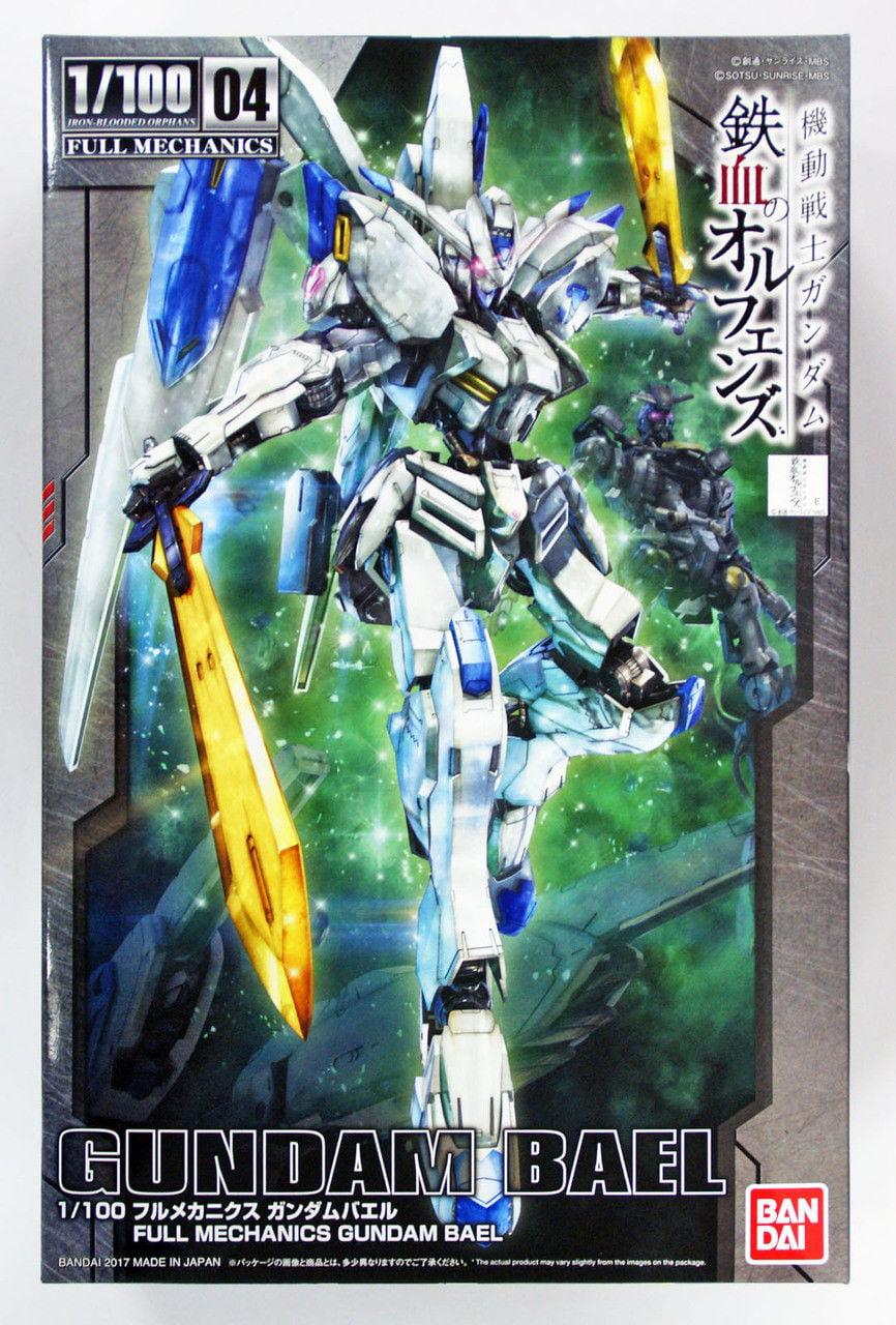 Bandai Hobby Iron-Blooded Orphans IBO Full Mechanics Gundam Bael 1 100 Model Kit by Bandai Hobby