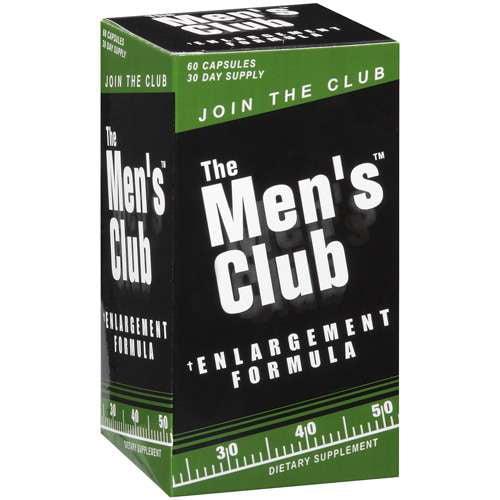 The Men's Club Enlargement Formula  Dietary Supplement