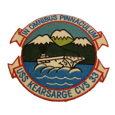 Uss Essex Class - IN OMNIBUS PINNACULUM USS KEARSARGE CVS-33 PATCH USN NAVY SHIP ESSEX CLASS