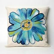 Liora Manne Daisy Indoor / Outdoor Throw Pillow