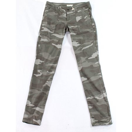 Jolt NEW Green Size 7 Junior Camo-Print Six-Pocket Cargo ...