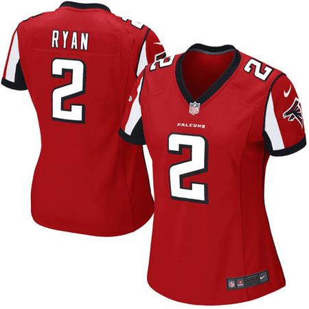 Matt Ryan Atlanta Falcons Nike Women's Game Jersey - (Atlanta Falcons Mat)