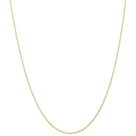 Gold Mens Robe - ICE CARATS 14kt Yellow Gold 1.35mm Carded Cable Link Rope Chain Necklace 18 Inch Pendant Charm Fine Jewelry Ideal Gifts For Women Gift Set From Heart