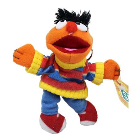 Sesame Street's Ernie Miniature Kids Plush Toy (5in) (Miniature Plush)