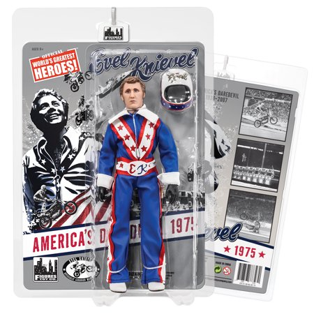 Evel Knievel Costume Toddler (Evel Knievel 8 Inch Action Figures Series 1 Re-Issue: Blue)