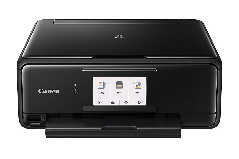 Canon PIXMA TS8120 Black Wireless Inkjet All-In-One Printer