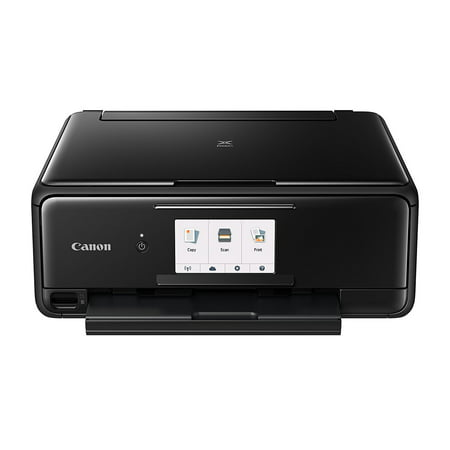 Canon PIXMA TS8120 Black Wireless Inkjet All-In-One (Best Canon Wireless Color Printers)