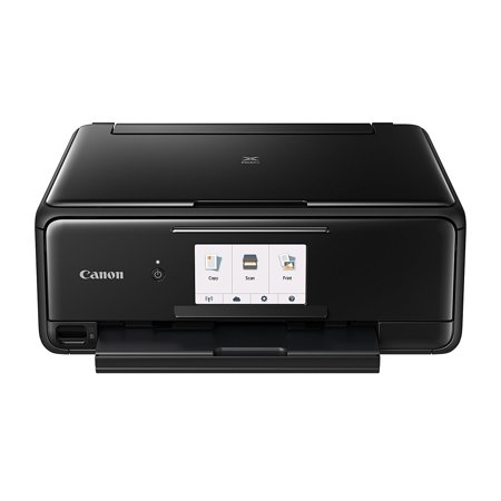 Classic Inkjet - Canon PIXMA TS8120 Black Wireless Inkjet All-In-One Printer