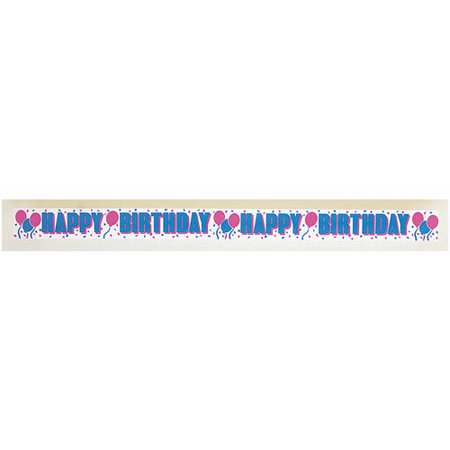 30 crepe paper happy birthday streamers walmart com