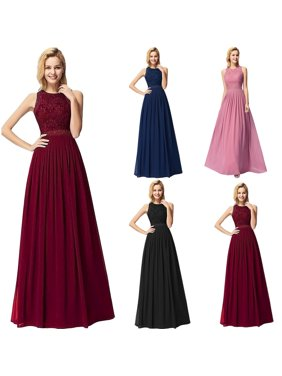 11729c29c5ba Product Image Ever-Pretty Womens Elegant Lace Sleeveless Floor Length Formal  Evening Prom Ball Gown Party Gala