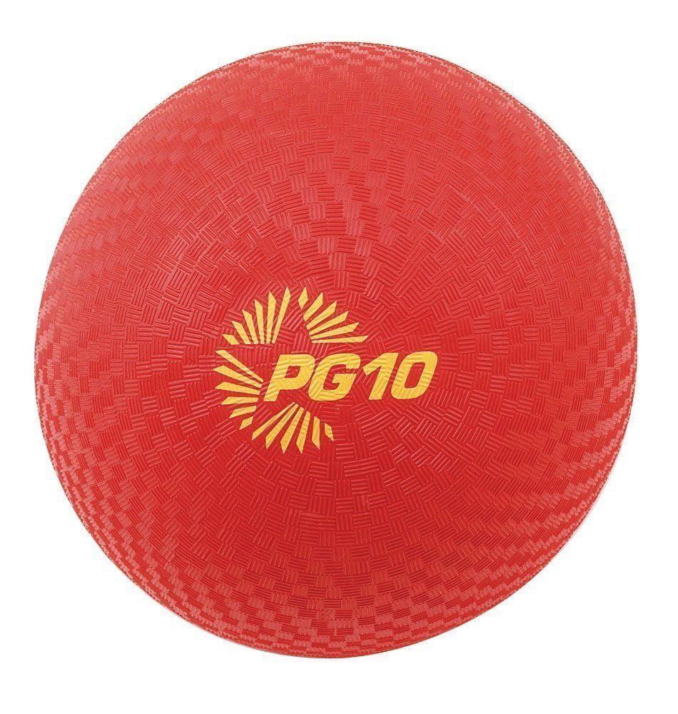 Champion Sports 8.5 Rubber Playground Dodgeball Kickball Ball New  Pg8.5-red, Great