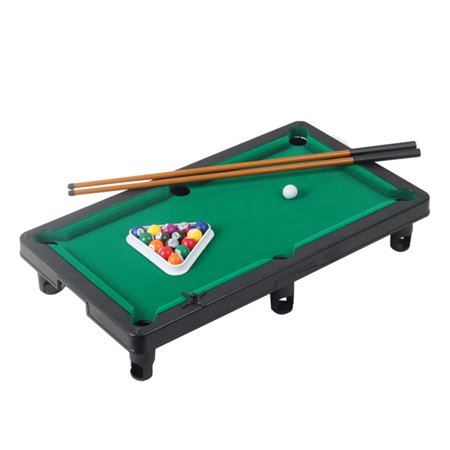 Iuhan Green Children Adult Desktop Ball Billiards Home Game Children Billiard Table Interaction Toys Set Gift ()