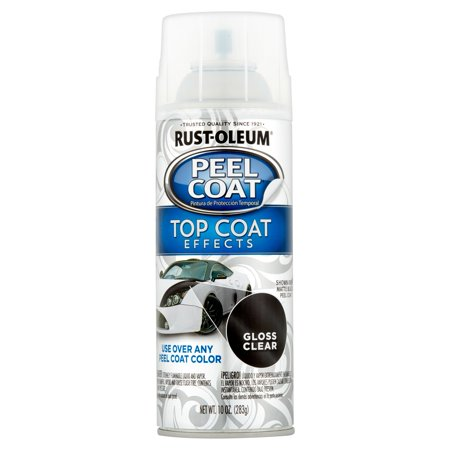 Rust-Oleum Gloss Clear Peel Coat, 10 oz (Best Automotive Clear Coat)
