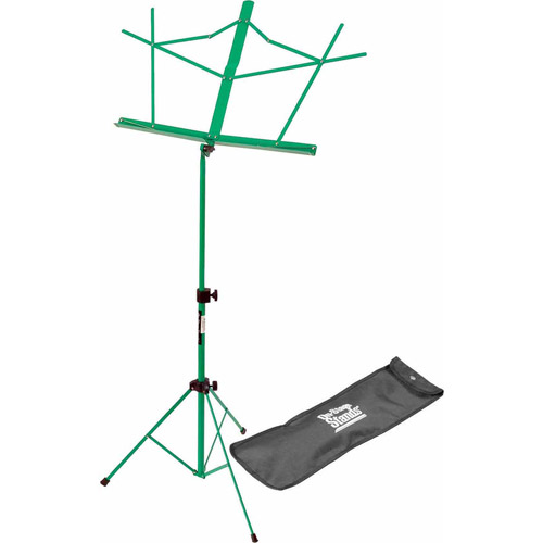 On Stage Folding Music Stand with Carrying Bag, Green by Generic