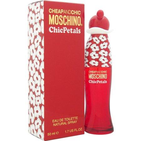 Moschino Cheap and Chic Chic Petals Natural Eau de Toilette Spray, 1.7 fl