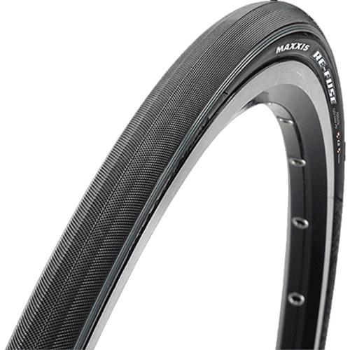 Maxxis Re-Fuse Dual Compound Maxx Shield Tubeless Ready Folding Bead Slick Road Bicycle Tire - 135597 (700 x 40C)