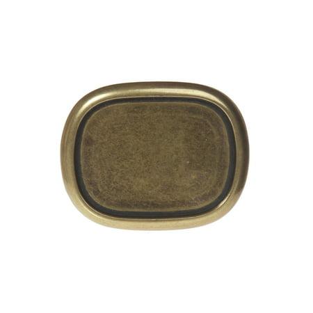 Plain Oval Belt Buckle (Plain Buckle)