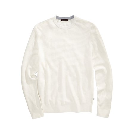 d9ca2fdeefb3a1 Michael Kors Mens Textued Pullover Sweater cedargreen XL - image 1 of 1 ...