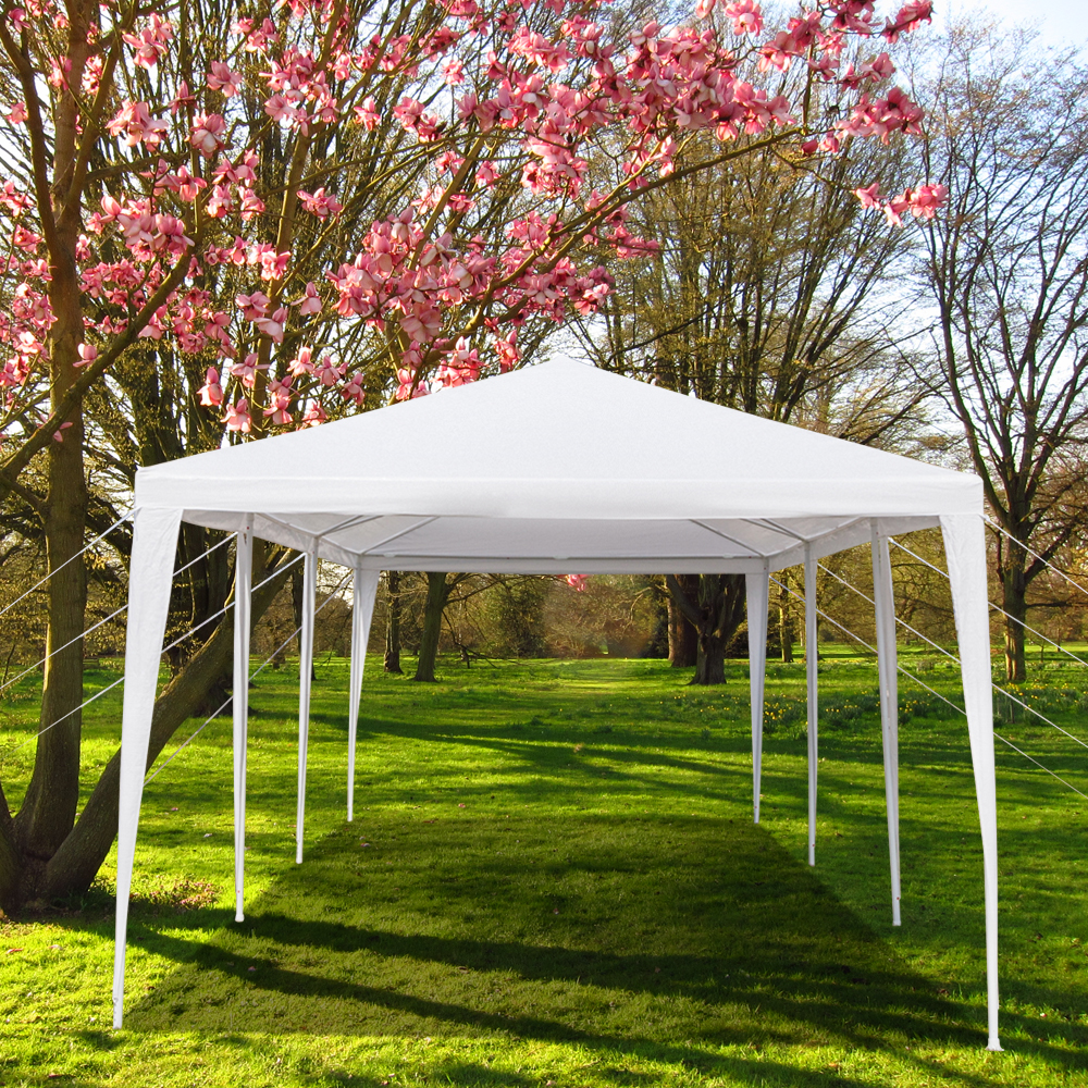 10'x30' Canopy Tents for Outside, Waterproof Outdoor Gazebo BBQ Shelter Pavilion with Removable Sidewalls, for Party Wedding Catering Gazebo Garden Beach Camping Patio, S10159