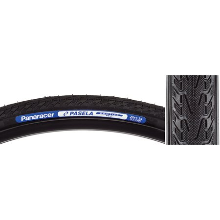 Panaracer Pasela Protite Tire 26x1.25 Black Wire Clincher 559 ISO