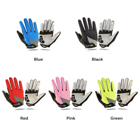 ROCKBROS Unisex Breathable Cycling Gloves Full Finger Gloves Thermal Gloves Touch Screen Gloves Motorcycling Skiing Hiking Outdoor Racing Riding - image 5 of 7