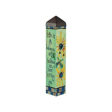Balance Poles (Studio M Life is a Balance Art Pole Garden)