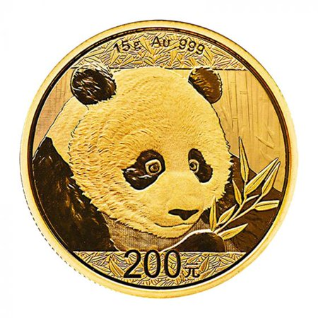 2018 Chinese Gold Panda 15 gram Coin - Chinese Coins Value