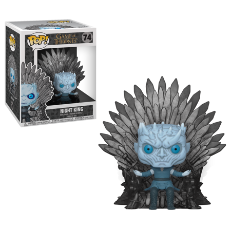 - Funko POP! Deluxe: GOT S10 - Night King Sitting on Throne