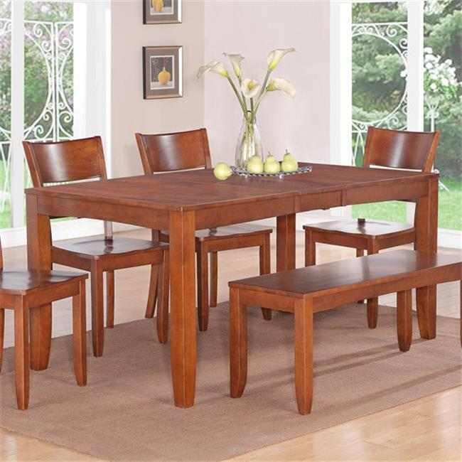 Wooden Imports Furniture LY-T-ESP Lynfield Rectangular Dining Table - Espresso