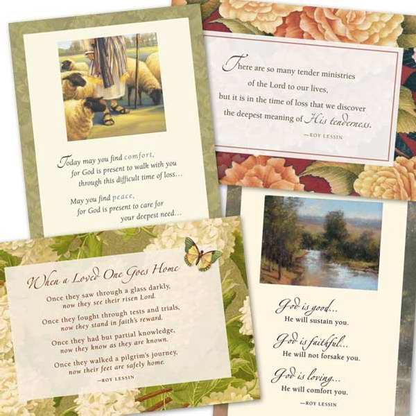 Card-Boxed-Sympathy-Roy Lessin (Box Of 12)