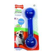 Nylabone FlexiChew Large/ Extra Large Bumpy Bone Dog Chew Toy Multi-Colored