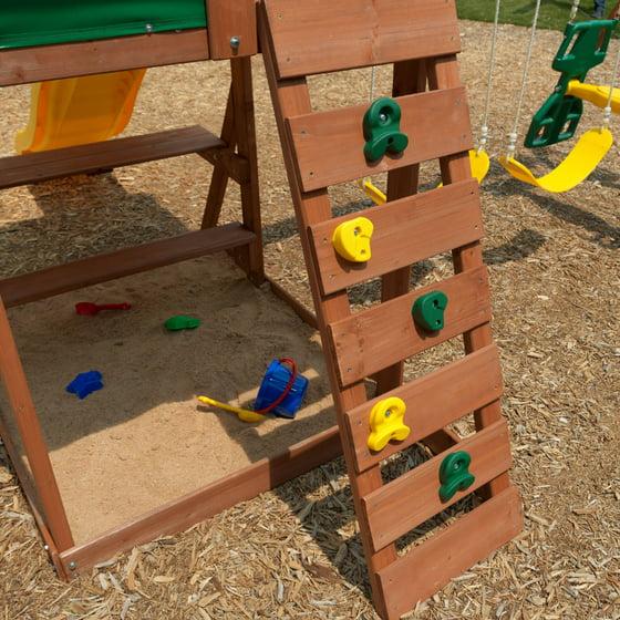 Kidkraft Cedarbrook Wooden Playset Walmartcom