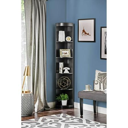Furniture of America Corner 5-shelf Display Stand/Bookshelf ()