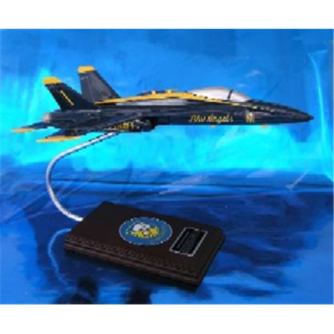 Daron Worldwide Trading ESSN019 F/A-18A Blue Angels Navy 1/40 AIRCRAFT