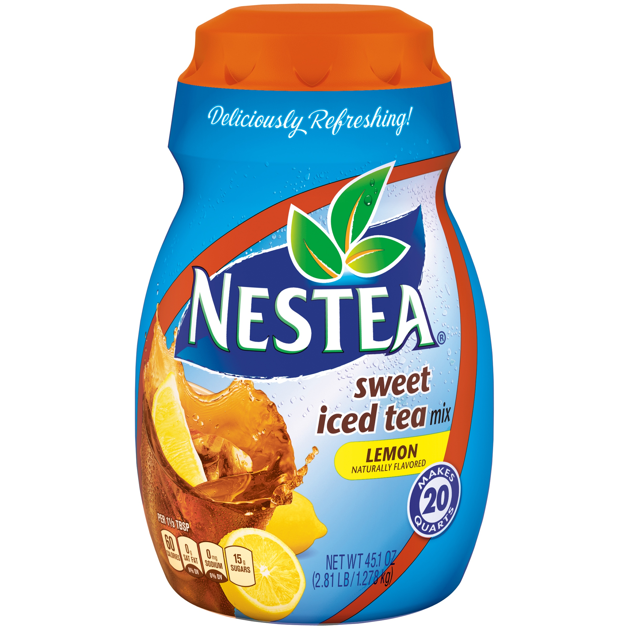 Nestea Drink Mix, Lemon, 45.1 Oz, 1 Count