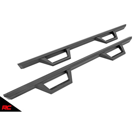 Rough Country Nerf Bar Hoop Steps compatible w/ 2020 Jeep Gladiator Truck Drop Side Steps Running Boards Jeep Gladiator Truck